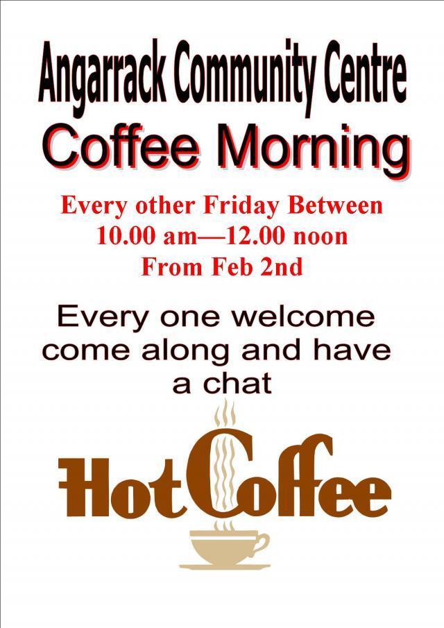 Angarrack Community Coffee morning